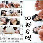 女性同士の足の舐め合い